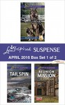 Harlequin Love Inspired Suspense April 2016 - Box Set 1 of 2: Protect and ServeTailspinReunion Mission (Rookie K-9 Unit) - Terri Reed, Elizabeth Goddard, Virginia Vaughan