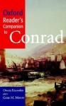 Oxford Reader's Companion to Conrad - Owen Knowles, Gene M. Moore