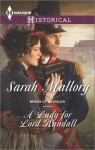 A Lady for Lord Randall - Sarah Mallory