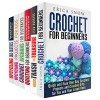 Crochet and Upcycling Box Set (6 in 1): Amazing DIY Crochet and Quilting Projects Plus Upcycling Ideas to Surprise Your Family and Friends (DIY Projects & Crocheting) - Amy Larson, Carrie Bishop, Rebecca Dwight, Cassandra Levy, Jean Rodgers, Erica Snow