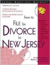 How to File for Divorce in New Jersey - F. Clifford Gibbons, Rebecca DeSimone