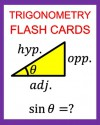 Trigonometry Flash Cards: Memorize Values of Trig Functions (sin, cos, tan) from 0 to 360 Degrees - Chris McMullen, Carolyn Kivett