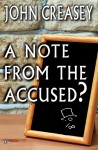 A Note from The Accused?: Kill The Toff - John Creasey