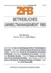 Betriebliches Umweltmanagement 1993 - Horst Albach
