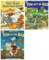 Penny Dale: 3 books: Ten in the Bed Series (Ten in the Bed / Ten Play Hide-And-Seek / Ten Out of the Bed rrp £17.97) - Penny Dale