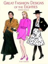 Great Fashion Designs of the Eighties Paper Dolls (Paper Doll Series) - Tom Tierney