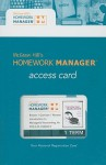 Homework Manager Card to accompany Introduction to Managerial Accounting - Peter C. Brewer