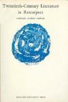 Twentieth-Century Literature in Retrospect - Reuben Arthur Brower