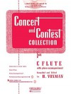 Concert and Contest Collection for C Flute - Book/CD Pack - H. Voxman
