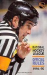 NHL Official Rules 1994-95 - NHL
