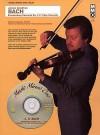 Music Minus One Violin: J.S. Bach Brandenburg Concerto No. 2; 'Triple' Concerto in A minor, BWV1044 (Book & CD) - Johann Sebastian Bach