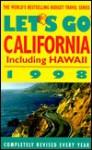 Let's Go California 1998 - Let's Go Inc.