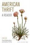 American Thrift: A Reader - David Blankenhorn, Andrew F. Kline