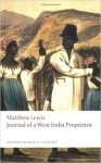 Journal of a West India Proprietor: Kept During a Residence in the Island of Jamaica - Judith Terry, Matthew Gregory Lewis