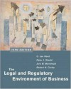 The Legal and Regulatory Environment of Business w/ PowerWeb - O. Lee Reed, Peter J. Shedd, Jere W. Morehead