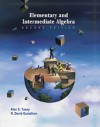 Elementary and Intermediate Algebra (Casebound , Bca Tutorial, Tle Student Guides, Bca Student Guide, and Infotrac) [With CDROM] - Alan S. Tussy, R. David Gustafson
