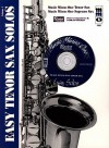 Music Minus One Tenor Sax: Easy Tenor/Soprano Sax Solos, Vol. I - Music Minus One