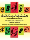 Bold Script Alphabets (Lettering, Calligraphy, Typography) - Dan X. Solo