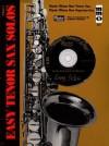Tenor Saxophone: Easy Tenor/Soprano Sax Solos, Vol. II - Music Minus One
