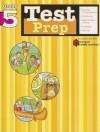 Test Prep: Grade 5 (Flash Kids Harcourt Family Learning) - Flash Kids Editors