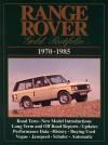 Range Rover: Gold Portfolio 1970-1985 - R.M. Clarke