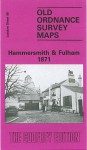 Hammersmith and Fulham 1871: London Sheet 086.1 (Old O.S. Maps of London) - Pamela Taylor