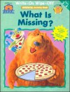 Bear Bbh Write On/Wipe Off Stencil Wkbk - Missing - Bendon Publishing