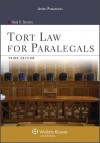Tort Law for Paralegals 3rd Edition - Bevans, Neal R. Bevans