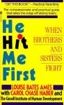 He Hit Me First - Louise Bates Ames
