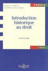 Introduction historique au droit - André Castaldo