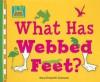 What Has Webbed Feet? - Mary Elizabeth Salzmann