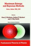 Maximum Entropy and Bayesian Methods: Boise, Idaho, USA, 1997 Proceedings of the 17th International Workshop on Maximum Entropy and Bayesian Methods of Statistical Analysis - Gary J. Erickson