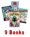 Boys Series Mix: Magic Pickle & the Planet of the Grapes; Melvin Beederman, the Curse of the Bologna Sandwich; Captain Underpants; Night Time, Too Scared to Sleep; Cloudy with a Chance of Meatballs (Book Sets for Kids : Grade 3 - 4) - Todd Strasser, Greg Trine, Scott Morse, Dav Pilkey