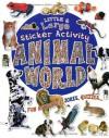 Animal World: Giant Sticker Book (Little and Large Sticker Activity Books) - Belinda Gallagher