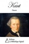 Oeuvres de Emmanuel Kant (French Edition) - Emmanuel Kant, Auguste Durand, Victor Delbos, Christian Wolff, Joseph Tissot