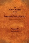 The Publications of the American Tract Society: Volume IV - American Tract Society