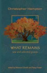 What Remains: New and Selected Poems - Christopher Hampton