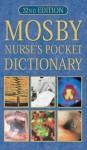 Mosby Nurse's Pocket Dictionary - Christine Brooker