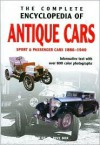 The Complete Encyclopedia of Antique Cars: Sport & Passenger Cars 1886-1940 - Rob de la Rive Box