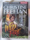 Wild Fire by Christine Feehan Unabridged CD Audiobook (Shapeshifting Leopard Series) - Christine Feehan, Phil Gigante