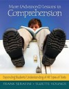 More (Advanced) Lessons in Comprehension - Frank Serafini, Suzette Youngs
