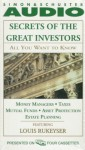 ALL YOU WANT TO KNOW ABOUT: SECRETS OF THE GREAT I: Money Managers and Mutual Funds Taxes, Asset Protection, and Estate Planning - Knowledge Products