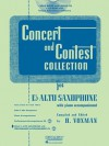 Concert and Contest Collection for Eb Alto Sax - Book/CD Pack (Rubank Book/CD) - H. Voxman