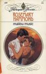 Malibu Music (Harlequin Presents, No 859) - Rosemary Hammond