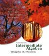 Intermediate Algebra: Graphs and Models - Marvin L. Bittinger, David J. Ellenbogen, Barbara L. Johnson