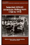 Selected African American Writing, 1760-1910 - Arthur Davis, Joyce Joyce