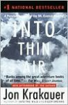 Into Thin Air: A Personal Account of the Mount Everest Disaster by Jon Krakauer - Jon Krakauer
