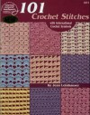 101 Crochet Stitches: With international crochet symbols - Jean Leinhauser