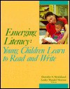 Emerging Literacy: Young Children Learn to Read and Write - Dorothy S. Strickland, Lesley Mandel Morrow