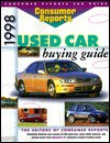 Consumer Reports 1998 Used Car Buying Guide (Annual) - The Editors of Consumers Reports, Consumer Reports